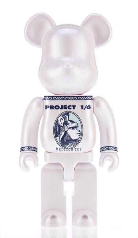 BE@RBRICK X Project 1/6, 'Centurion (White) 400%', 2014