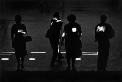 Kenneth Josephson, 'Chicago (under the el)', 1961