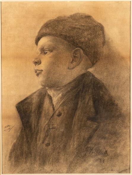 George Van Millett, 'Young German Boy', 1888