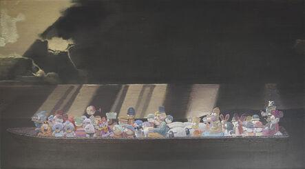 Zhang Gong, 'A Boat in the Ocean', 2012