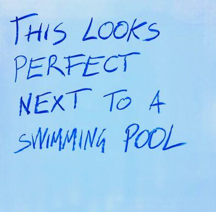 Daniele Sigalot, 'Swimming Pool', 2018