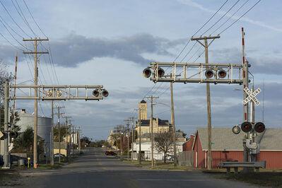 Joel Morgovsky, 'Junction City Railroad Crossing, Junction City, KS'