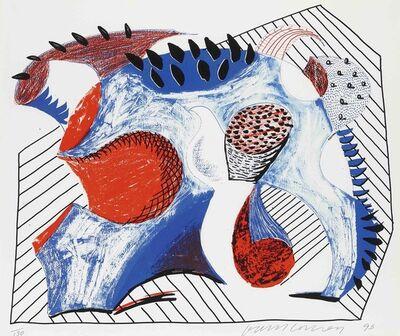 David Hockney, 'Untitled (for Joel Wachs)', 1993