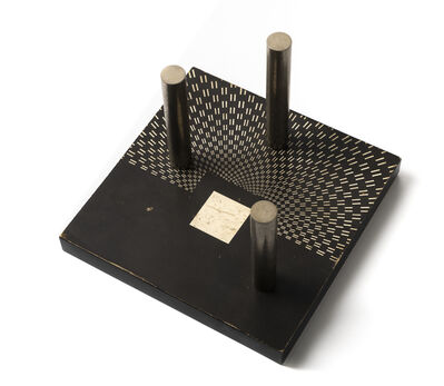 Carlo Alfano, 'Tempi prospettici', 1967