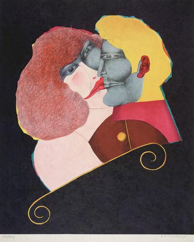 Richard Lindner, 'Kiss', 1971
