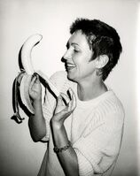 Andy Warhol, 'Pat Hackett Peeling a Banana', 1986