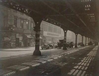 Todd Webb, 'Under The El Third Avenue, New York City', 1946