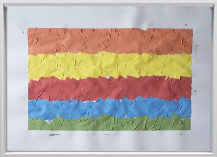 Rodrigo González Castellanos, 'Desgaste de la psicología del color, Diversión', 2020