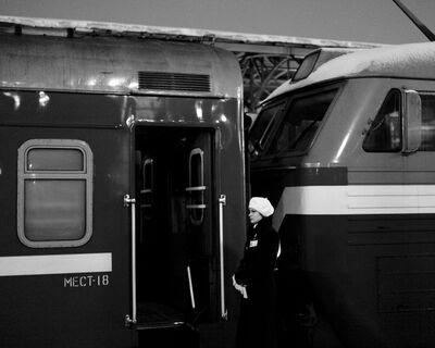 Matthew Webb, 'Train not plane (Belarusskiy Railway Station, Moscow, Russia)', 2012