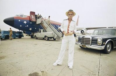 Terry O'Neill, 'Elton John, Plane, 1975 ', 1975