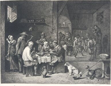David Teniers the Younger, 'The Dinner Ham', 1883