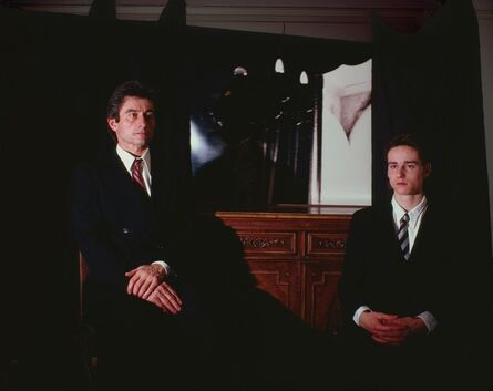 Clegg & Guttmann, 'The Collector and his Son', 1987