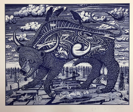Grayson Perry, 'Animal Spirit (blue) ', 2016