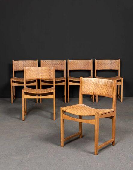 Peter Hvidt, 'Modèle 350, Six chairs', 1958