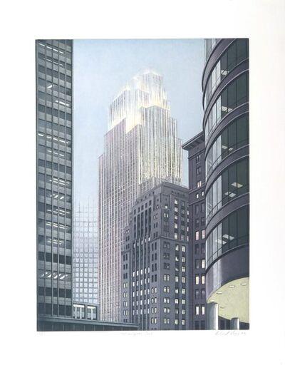 Richard Haas, 'Minneapolis Dusk', 1993