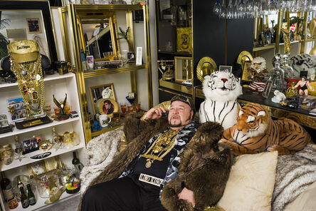 Lauren Greenfield, 'Limo Bob in his office, Chicago', 2008