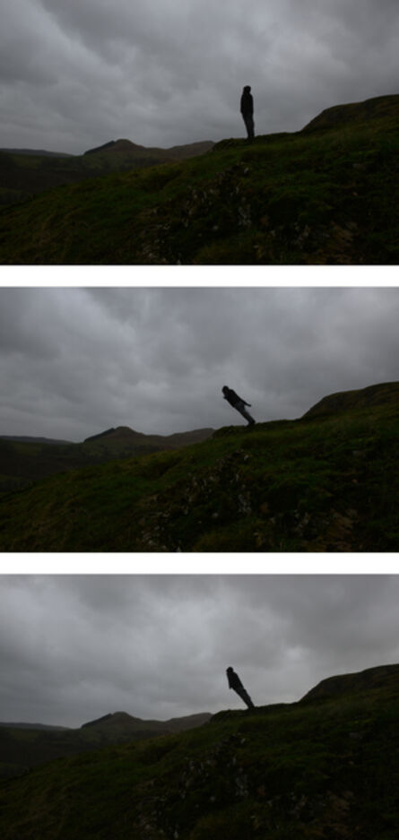 Andy Goldsworthy, 'Leaning into the wind, Dumfriesshire, Scotland, 15 January 2015', 2015