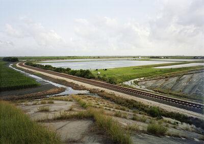 Victoria Sambunaris, 'Untitled (Train Tracks), Port Lavaca, Texas', 2015