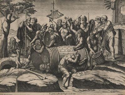 Diana Mantuana, 'Attilius Regulus in a Barrel', ca. 1570