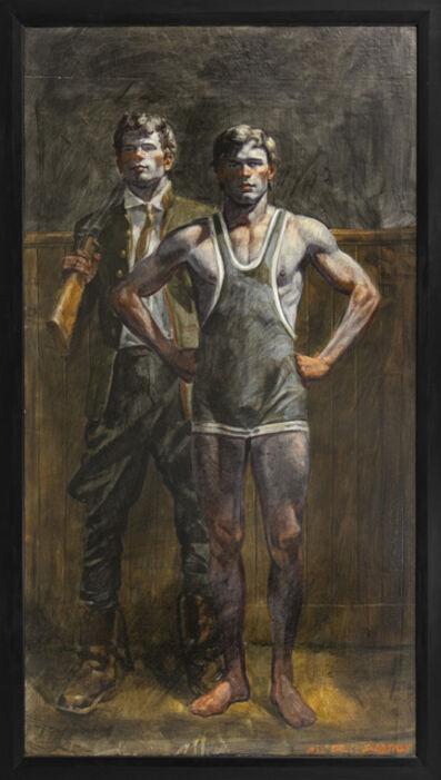 Mark Beard, '[Bruce Sargeant (1989-1938)] Hunter and Wrestler', n.d.