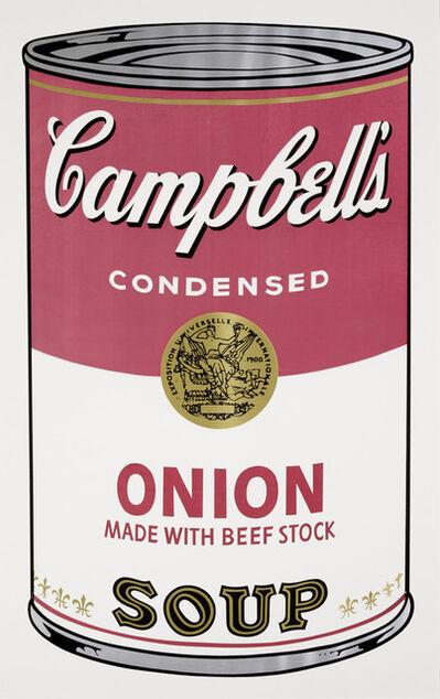 Andy Warhol, 'Onion Soup, from Campbell's Soup I (Feldman & Schellmann II.47)', 1968