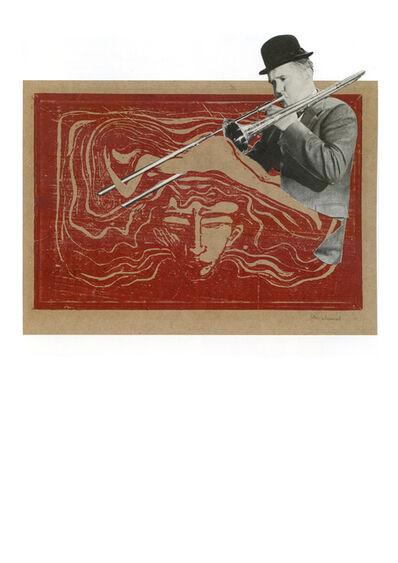 Hank Schmidt in der Beek, 'Collage Nr. 500 (Doof/Munch)', 2011