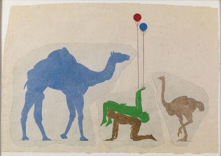 Carl Plackman, 'Fragments Desert Survival', 1999