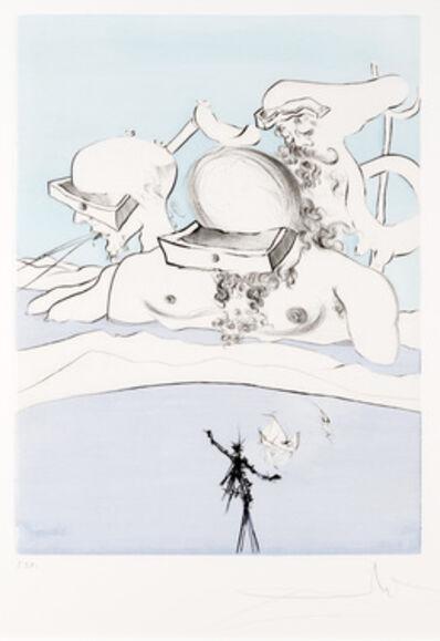 Salvador Dalí, 'Expulse Comme un Megot par des Magots from Apres 50 Ans du Surrealisme'