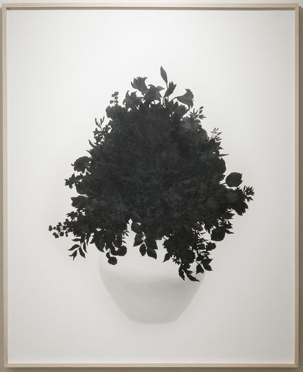 Eun Ju Kim, 'Then I quietly draw a flower', 2014
