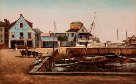 Frank Henry Shapleigh, 'The Plaza Basin, St. Augustine Florida', 1889
