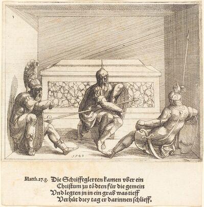 Augustin Hirschvogel, 'Christ in the Tomb', 1548