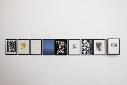 Matthias Bitzer, 'Phosphor Notes (Hypomnema)', 2013