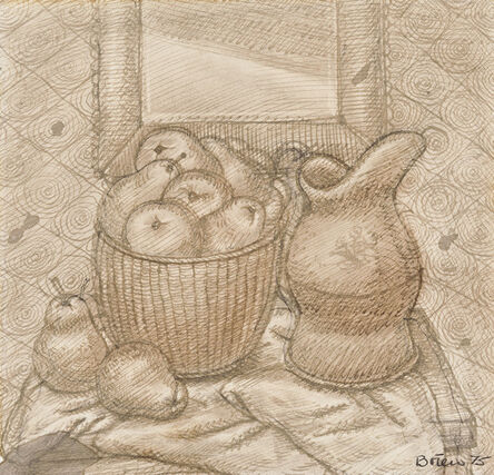 Fernando Botero, 'Still Life with Pears and Pitcher', 1975