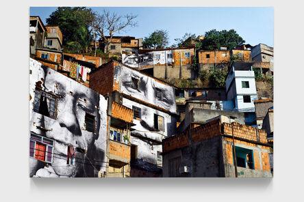 JR, '28 Millimètres, Women are Heroes, Action dans la Favela Morro da Providência, Maria de Fatima, day view, Rio de Janeiro, Brésil', 2008