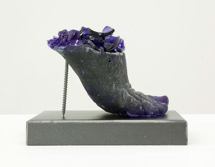 Rachel Owens, 'Footwear (Blue Heel)', 2015