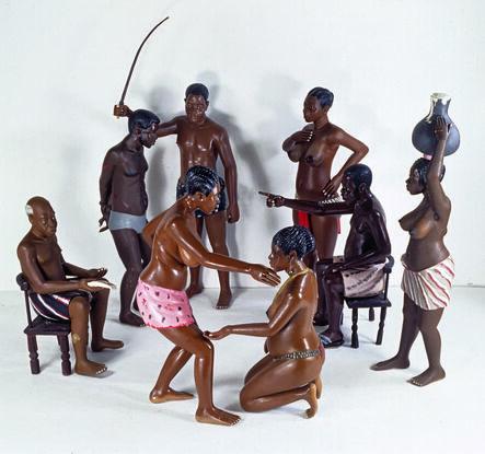 Émile Guebehi and Nicolas Damas, 'Untitled (Adultery Scene)', 1991