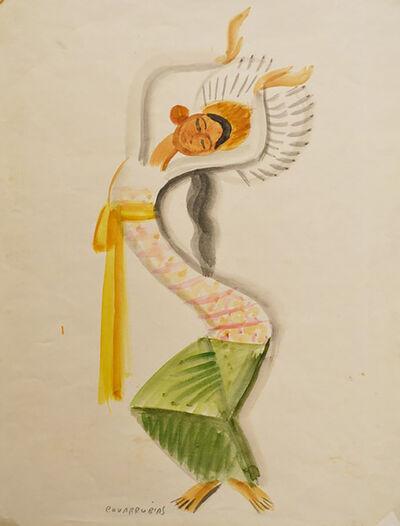 Miguel Covarrubias, 'Legong bailarín (Legong Dancer)'