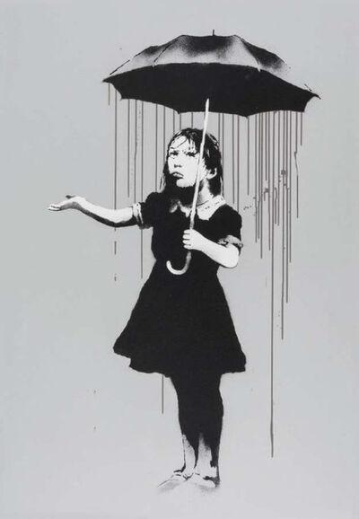 Banksy, 'Nola (Grey rain variant)', 2009