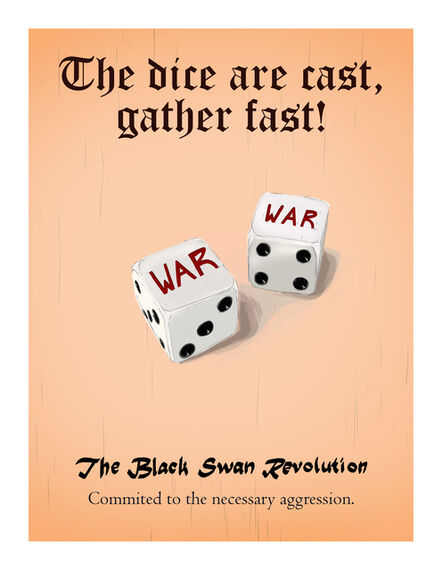 Cody Norris, 'The Black Swan Revolution (Fatal casting)', 2020
