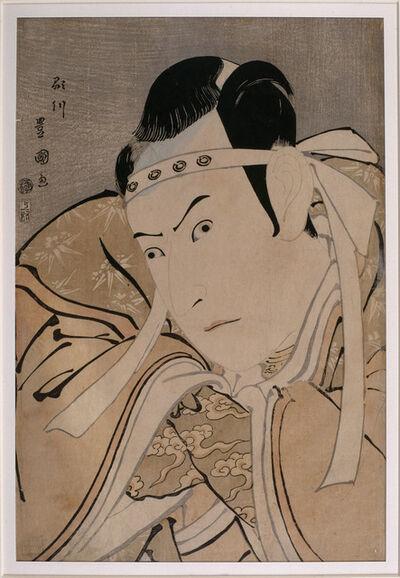Utagawa Toyokuni I, 'Portrait of the actor Ichikawa Yaozô III in the role of Minamoto no Yoshitsune', 1796