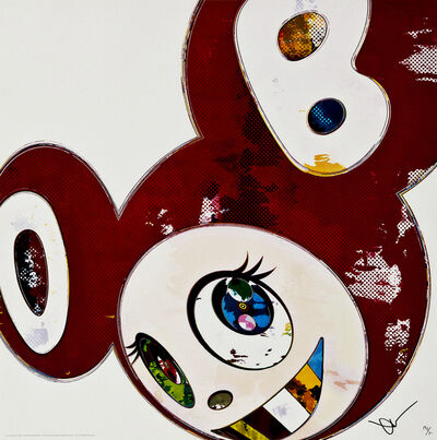 Takashi Murakami, 'And Then x 6 (Red: The Superflat Method)', 2013