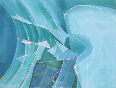 Wilhelmina Barns-Graham, 'Variation on a Theme (Splintered ice No.2)', 1987