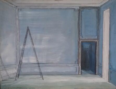 Pierre Bergian, 'Ladder in Blue Room', 2018