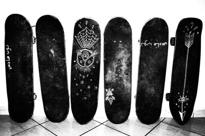 Kate Bellm, 'Skateboards, Morocco', 2014