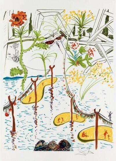 Salvador Dalí, 'Biological Garden (Imagination & Objects of the Future Portfolio)', 1975