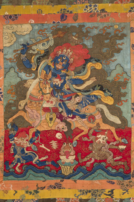'Magzor Gyalmo, the Queen Who Repels Armies', 18th century