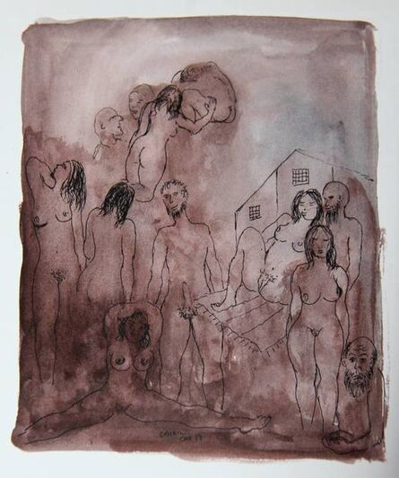 Tasaduq Sohail, 'Untitled (Studies)', 1979