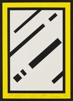 Roy Lichtenstein, 'Mirror, from Harvey Gantt', 1990