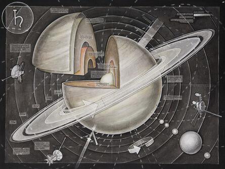 Casey Cripe, 'Planets: Saturn (v.1.1)', 2015