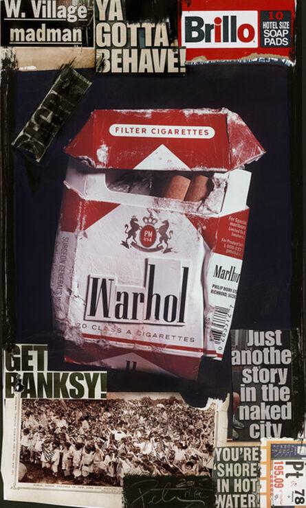 Peter Tunney, 'Warhol Cigarettes (Get Banksy)', 2015